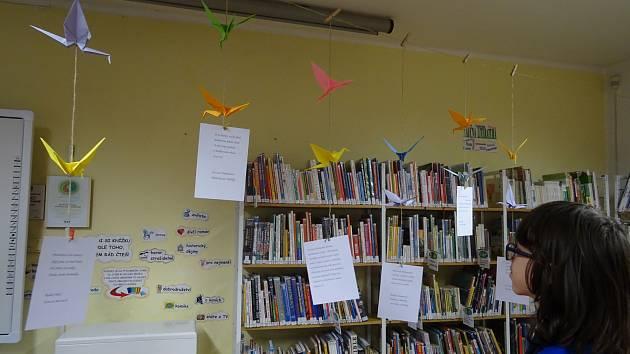 Oslava poezie v Městské knihovně v Prachaticích.