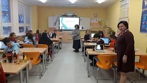 Otevření badatelské učebny v Základní škole v Národní ulici v Prachaticích.