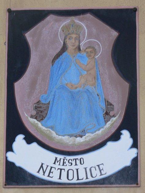 Ilustrační foto - znak Města Netolice.