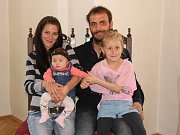 Lucie Hödlová s rodinou.