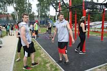 Ve Vimperku otevřeli v pátek 10. června nové hřiště pro street workout. Je první svého druhu na Prachaticku.