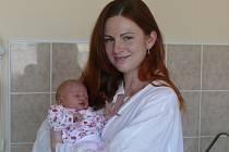 Amálie Radvanovská se v prachatické porodnici narodila v pondělí 19. května v 17.25 hodin. Vážila 3140 gramů. Rodiče Soňa a Lukáš si dceru odvezli domů, do Prachatic.
