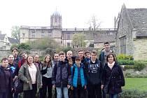 Školáci ze Strunkovic nad Blanicí vyrazili do Anglie.