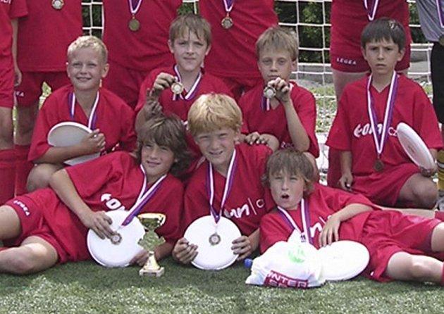 Mladí fotbalisté získávají jeden úspěch za druhým.