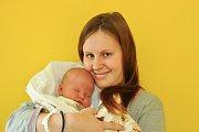 Pavel ROUČKA, Paračov. Narodil se v neděli 4. listopadu v 1 hodinu a 40 minut, ve strakonické porodnici. Vážil 3450 gramů. Rodiče: Michaela a Pavel.