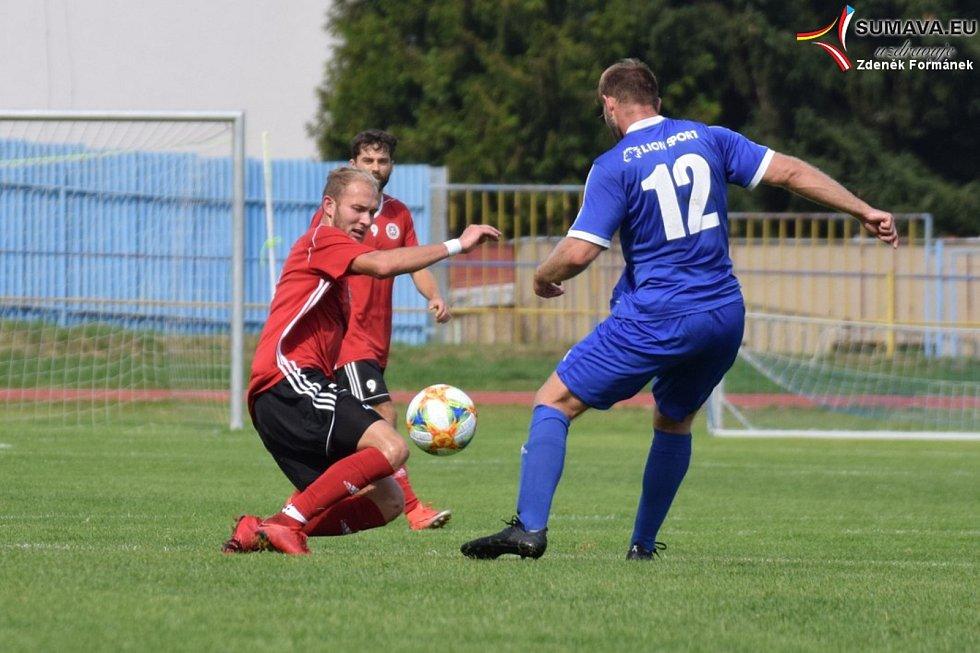 Víkend přinese na Prachaticku řadu zajímavých fotbalových zápasů.