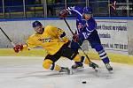 Hokejová KL: J. Hradec - Vimperk 6:2. Ilustrační foto.