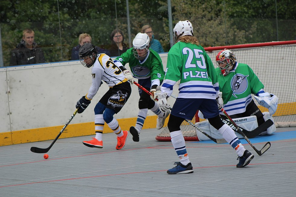 Extraliga juniorů: HBC Prachatice - HBC Plzeň B 4:0.