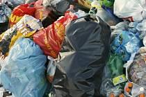 V obci je tento týden naplánovaný sběr nebezpečného domovního odpadu. Ilustrační foto.