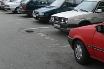 Parkovací místa. Ilustrační foto.