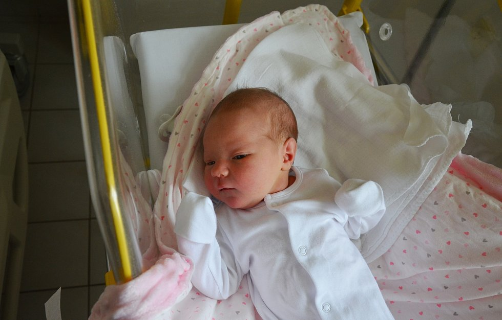 ZORKA SOUKUPOVÁ, LIBÍNSKÉ SEDLO. Narodila se v sobotu 28. prosince v 6 hodin a 31 minut v písecké porodnici. Vážila 4000 gramů a měřila 52 cm. Rodiče: Petra a Radim Soukupovi.