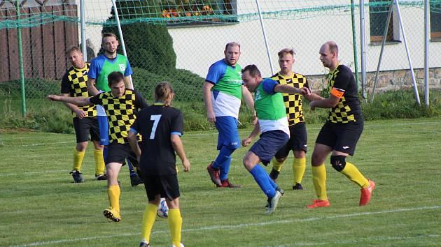 OS Prachaticka: Svatá Maří - Strunkovice B 0:1 (0:1).