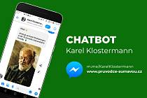 Nová aplikace Karel Klostermann.