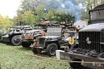 Desítky strojů z druhé světové války budou obdivovat milovníci historie o víkendu ve Kvildě.