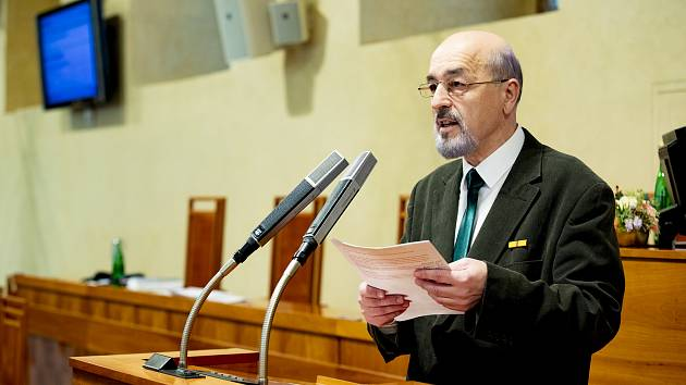 Petr Martan v Senátu.