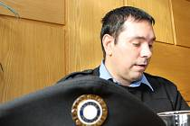 Vrchní strážník Daniel Ziemba.