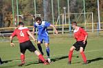 Fotbalová B třída: Čkyně - Husinec 4:1.