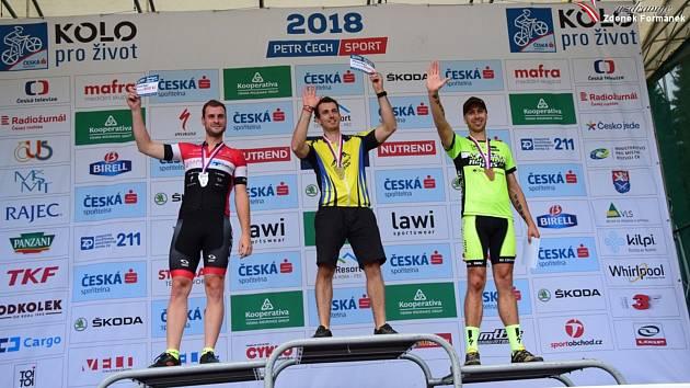 Bikeři zdolávali 21. Šumavský MTB maraton. Foto: Zdeněk Formánek