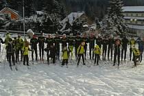 Lyžaři z Vimperka a Grafenau absolvovali společné soustředění.