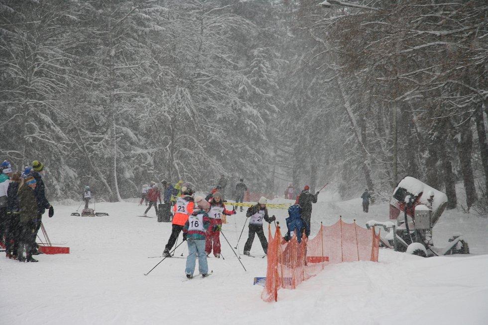 V roce 2019 si děti projekt Lyžuj lesy na Vodníku pořádně užívaly.