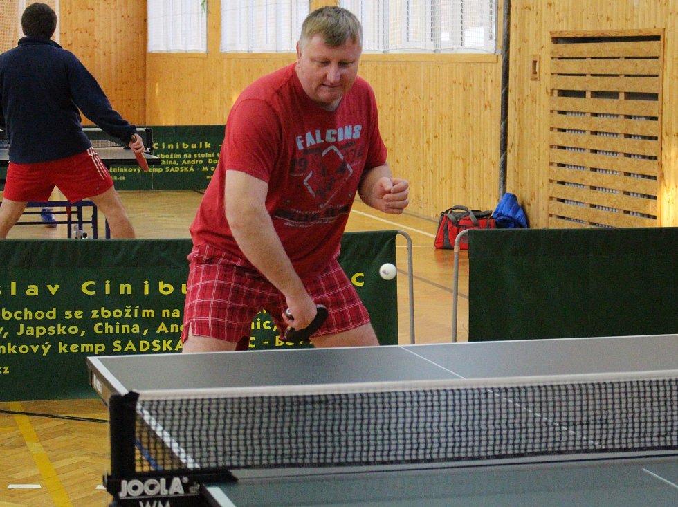 Okresní soutěže stolních tenistů mají za sebou další kolo.