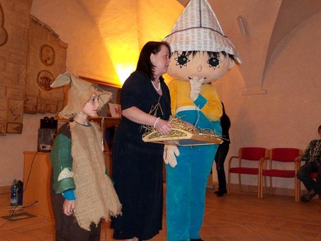 Knihovnická Noc s Andersenem s Libínem - S v Prachaticích.