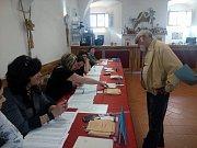 Volby ve Vlachově Březí.