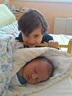 Daniel Cinádr se narodil v prachatické porodnici ve středu 25. ledna v 16.40 hodin rodičům Janě a Jaroslavovi z Prachatic. Chlapeček vážil 4270 gramů. Na malého Daniela se těší tříletý bráška Dominik.