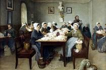 Draní peří, výroba mašlovaček a svatomartinských lucerniček