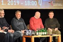 Do Vimperka zavítaly hokejové legendy v čele s Bohuslavem Ebermannem. F