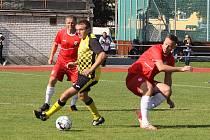 Fotbalová I.A třída: Netolice - Kaplice 1:3.