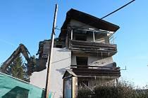 Demolice vybuchlého objektu v Lenoře začala ve čtvrtek 5. prosince.