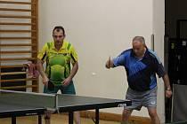 OP stolních tenistů: Netolice - Lenora 13:5.