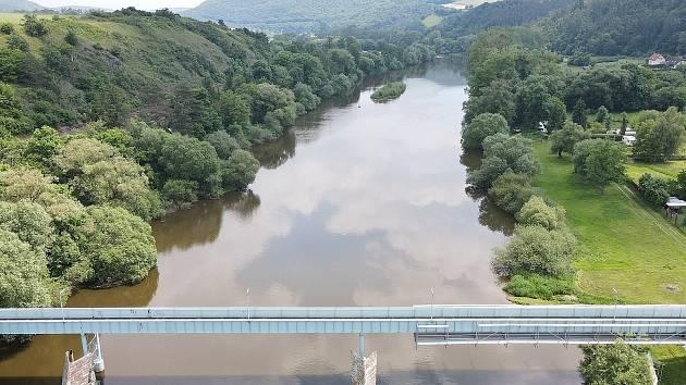 Řeka Berounka, ilustrační foto.
