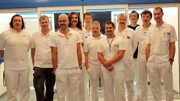 MOTOREM kampaně Movember v Nemocnici Hořovice bylo ortopedické oddělení, přidali se další.