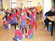 Mikulášská nadílka v Klubu důchodců v Berouně.