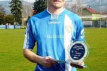 Fotbalista okresu 2013 Jiří Sabou