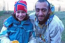 Ervin Beshir se svou dcerkou Carmen