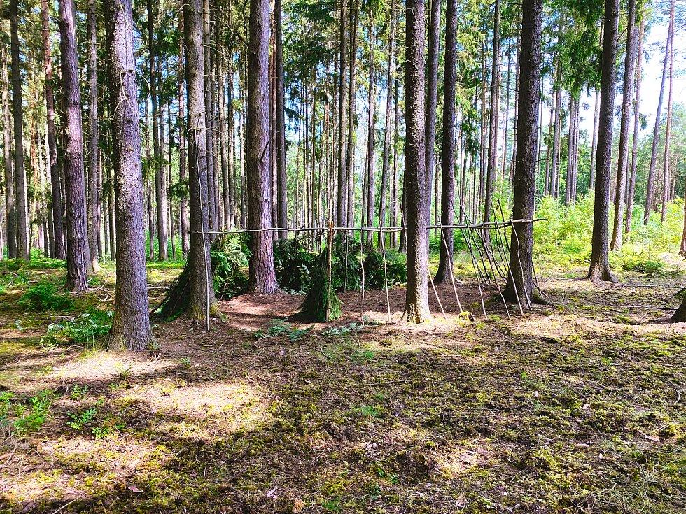 Z tábora v Nebřezinech.