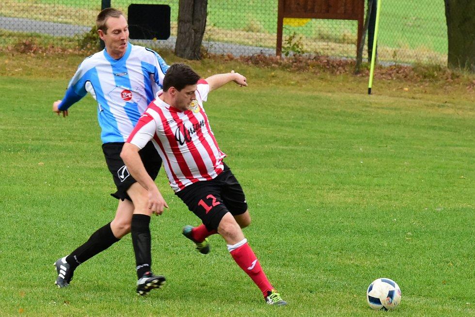 Dva góly Kamila Svobody rozhodly o výhře Hudlic nad rezervou Unionu.
