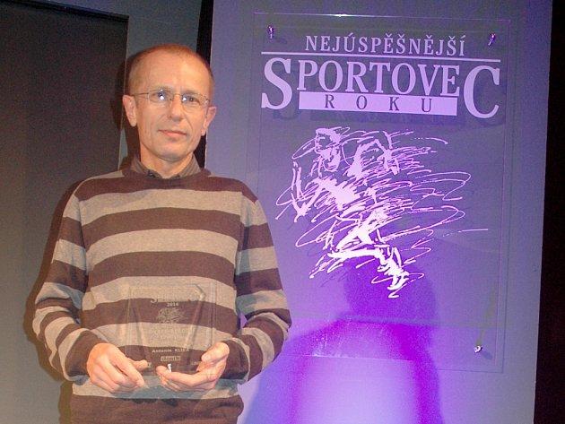 Atlet Antonín Klika se stal nejúspěšnějším sportovcem Berounska za rok 2014