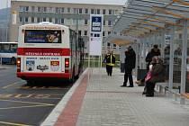 Nové autobusové nádraží v Berouně