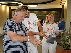 V berounské nemocnici se uskutečnila akce na podporu zdraví.