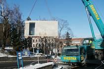 Hořovická stavba století -veřejné toalety