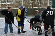 Hokejbalisté Diabla Beroun porazili HC Perun 4:3