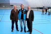 Slavnostní zahájení letního provozu hořovického městského zimního stadionu se uskutečnilo 6. května 2016