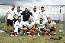 Už potřetí tento tým vyhrál chyňavský turnaj v malé kopané.