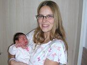 KATEŘINA Witoszová se narodila 14. října 2017 manželům Jarmile a Michalovi z Králova Dvora. Kačenka, které vybral jméno tatínek, vážila po porodu 3,34 kg a měřila 50 cm. Ze sestřičky se raduje dvouletá Monička.