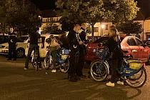 Strážníci a policisté se v Berouně zaměřili na cyklisty.