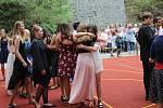 Školáci z Jungmannovy základní školy v Berouně se rozloučily se školním rokem. Právě jim začínají dvouměsíční letní prázdniny.